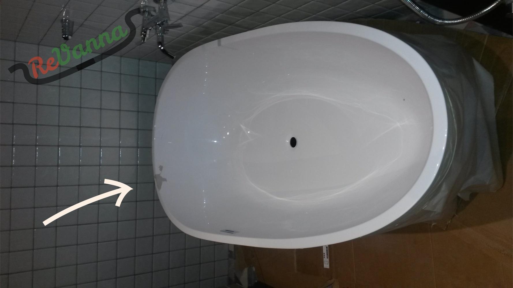 ремонт акриловых ванн 6